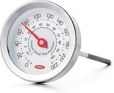 Oxo 11133300 Termómetro de Precisión Análogo Chef, Multicolor