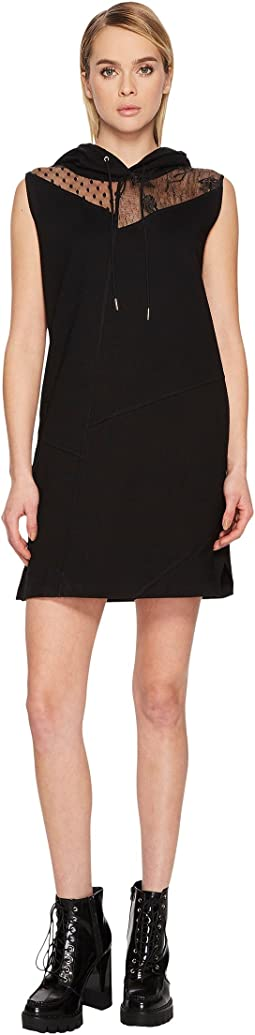 McQ - Sleeveless Hoodie Dress