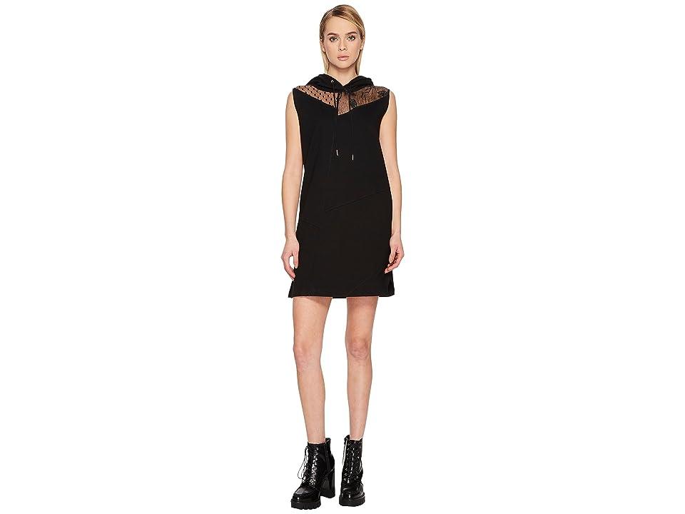 McQ Sleeveless Hoodie Dress (Black) Women