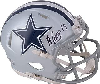 Amari Cooper Dallas Cowboys Autographed Riddell Speed Mini Helmet - Fanatics Authentic Certified - Autographed NFL Mini Helmets