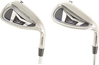 AGXGOLF Acer XS Series Wide Sole Senior Edition Pitching Wedge & Sand Wedge w/Senior Flex Graphite Shafts; Built in The U.S.A.
