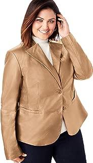 Women's Plus Size Peplum Jacket