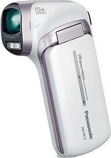 パナソニック デジタルムービーカメラ DC2 クールホワイト HX-DC2-W