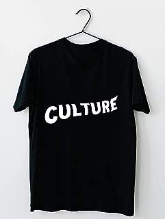 Culture (Migos) White T shirt Hoodie for Men Women Unisex
