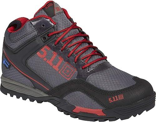 5.11 Range Master Waterproof Stiefel-M - Calzado de protección para Hombre schwarz schwarz, Farbe grau, Größe 41 EU