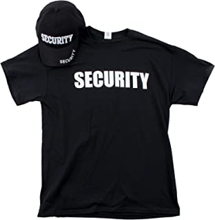 custom security t shirts