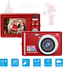 $41 Get HD Mini Digital Cameras,Point and Shoot Digital Video Cameras-Travel,Camping,Gifts