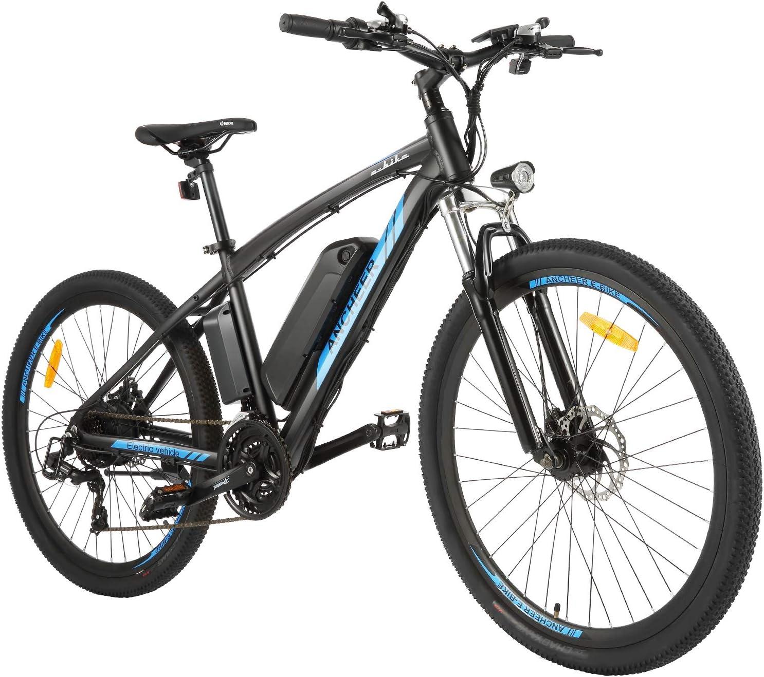 ANCHEER Bicicleta Eléctrica de Montaña de 27,5