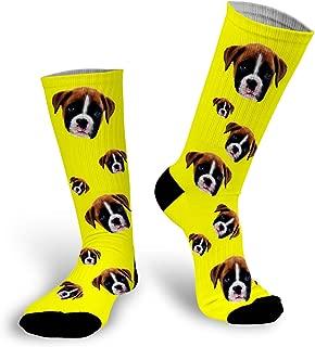 pets face on socks