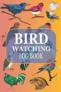 Bird watching log book: Track your observations with this bird diary + table of contents + space for your photos and sketc...