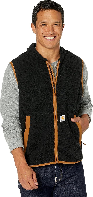 Carhartt Men's Relaxed Fit Fleece Vest