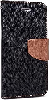 Kroo Flip Folio Wallet for Apple iPhone 6 Plus - Non-Retail Packaging - Black