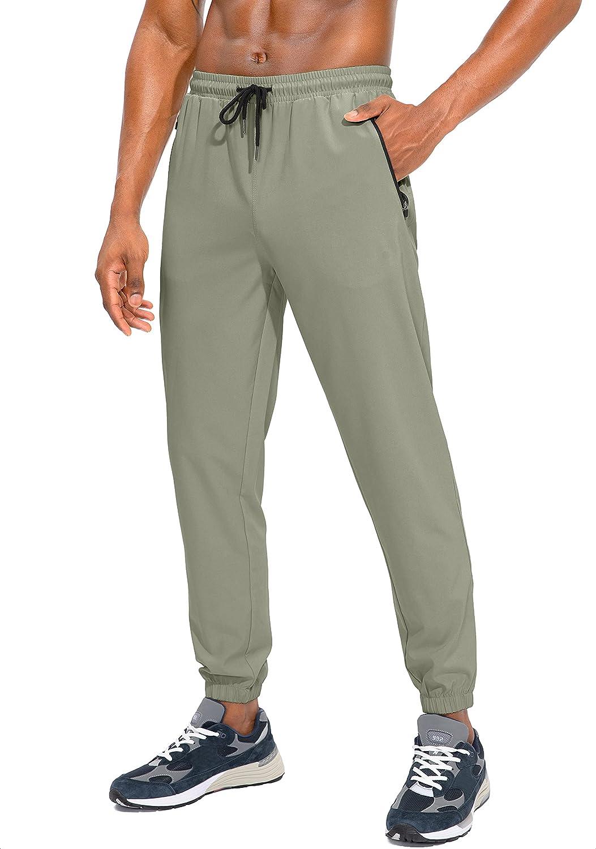 Trust Regular store SANTINY Men's Lightweight Jogger Pants Running Athletic Workout