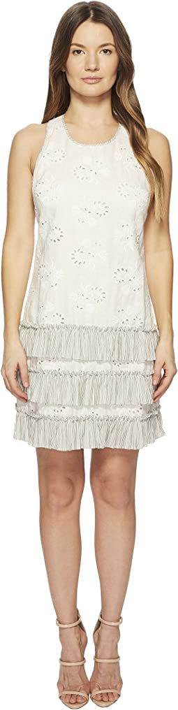 Rebecca Taylor Magic Garden Eyelet Tank Dress