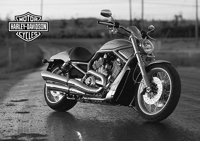 AC414 BIKE POSTER Poster Print Art A0 A1 A2 A3 HARLEY DAVIDSON MOTORCYCLE 10