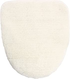 オカ 乾度良好 Dナチュレ 洗浄暖房型専用 ロングサイズ フタカバー 吸着シートタイプ (ホワイト)