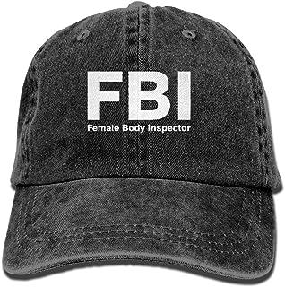 FBI Female Body Inspector Unisex Adult Adjustable Retro Dad Cap