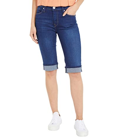 Hudson Jeans Amelia Cuffed Knee Shorts in Shapeless (Shapeless) Women