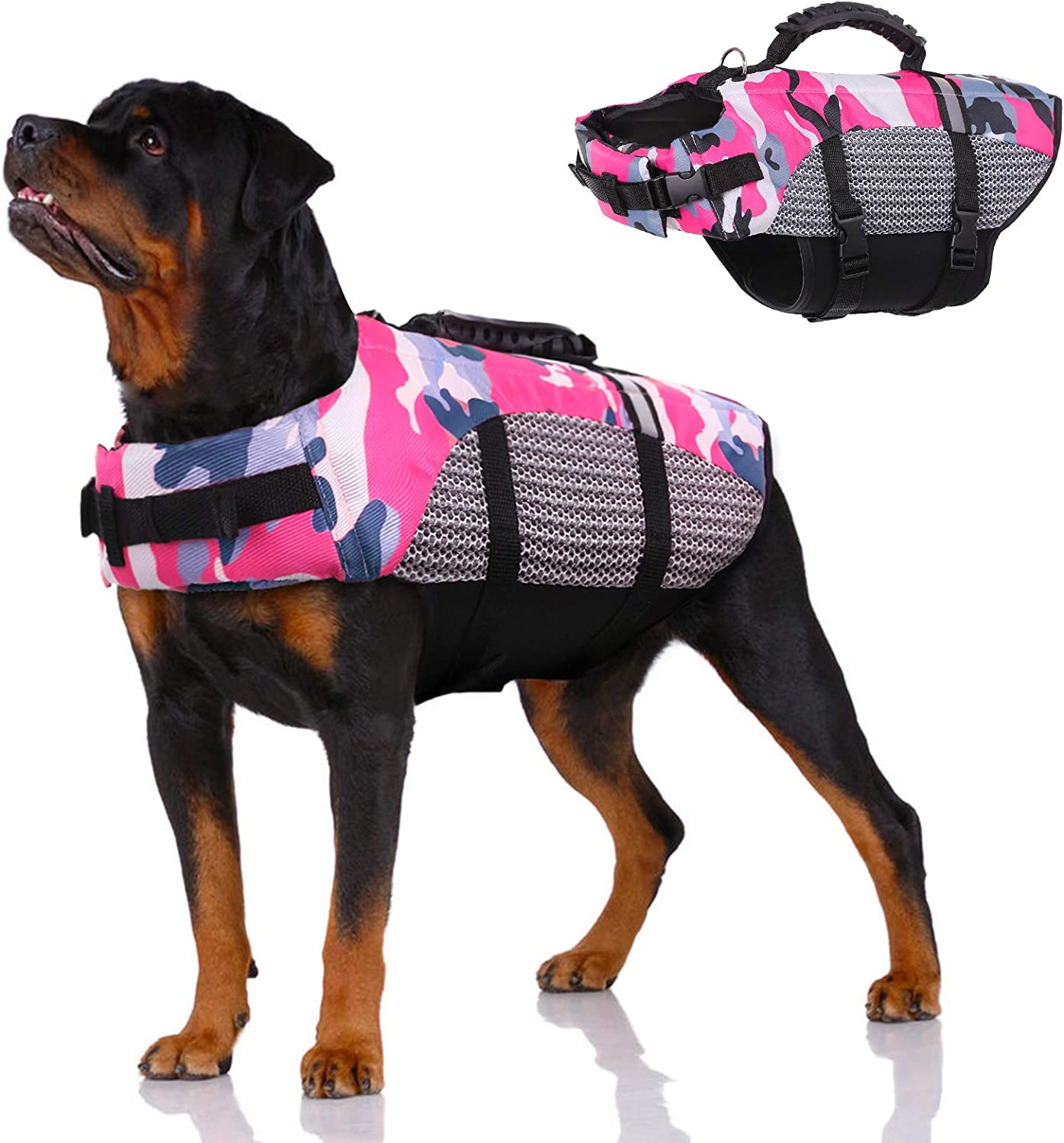 Dog Life Jacket Pet Preserver Vest,Portable Lifes Mail order Swimsuit 2021new shipping free shipping