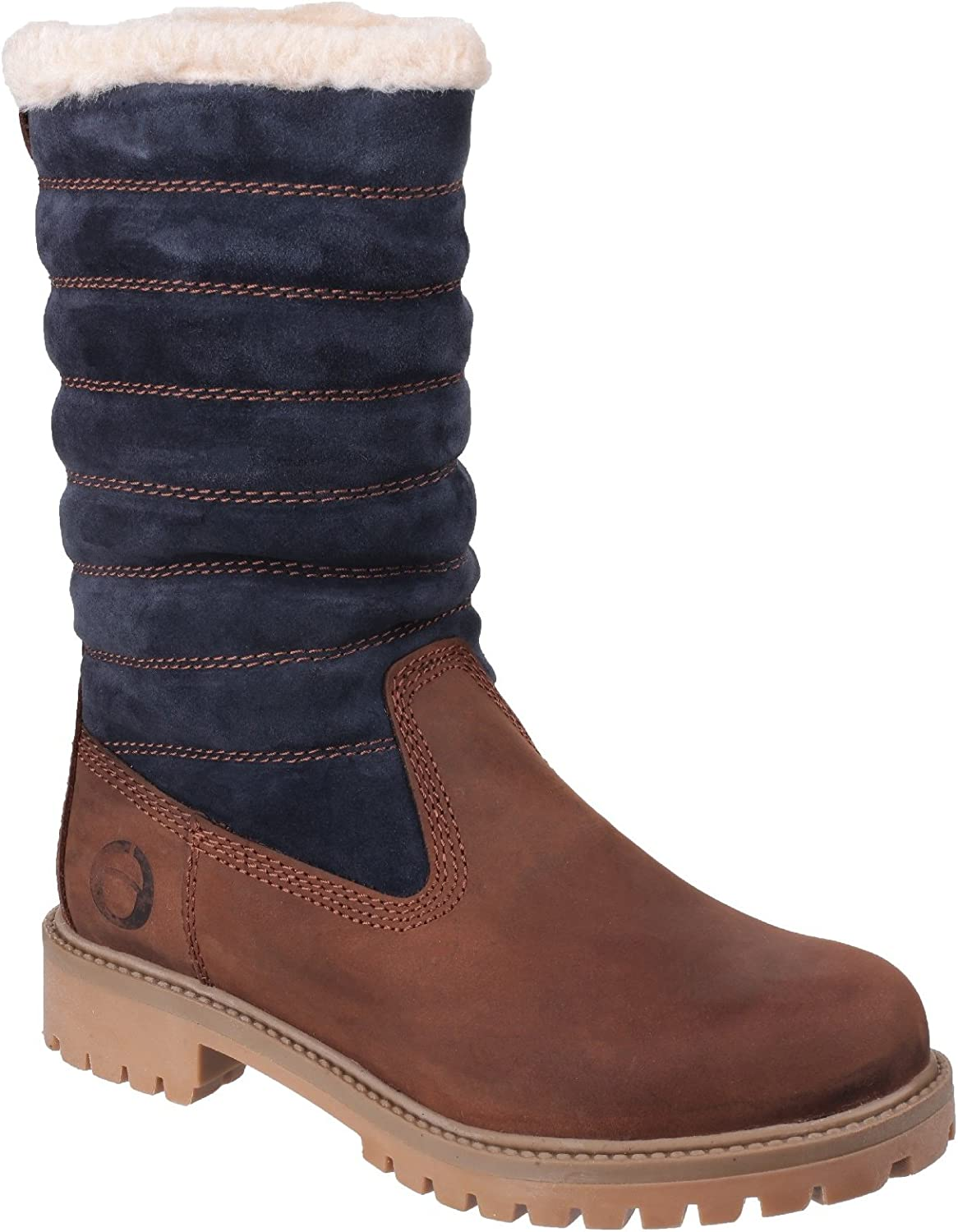 Cotswold Womens Ladies Ripple Zip Up Boots