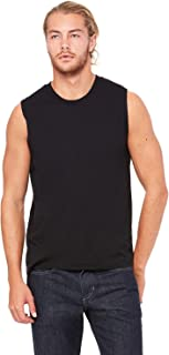 Product of Brand Bella + Canvas Unisex Jersey Muscle Tank Top - White - XS - (Instant Savings of 5% & More)