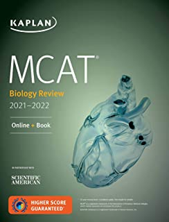 MCAT Biology Review 2021-2022: Online + Book (Kaplan Test Prep)
