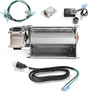Hongso GFK21, FK21 Replacement Fireplace Blower Fan KIT for Heatilator, Majestic, Vermont Castings, Monessen, Heat n Glo, FMI, CFM, DESA, Rotom HB-RB21