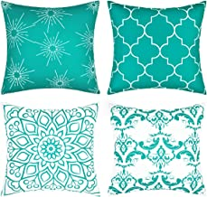 Fascidorm Throw Pillow Covers Modern Decorative Throw Pillow Case Cushion Case for Room Bedroom Room Sofa Chair Car 18 x 1...