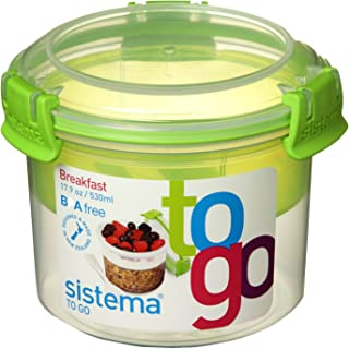 comprar comparacion Sistema Breakfast To Go, 530 ml, grün 25355