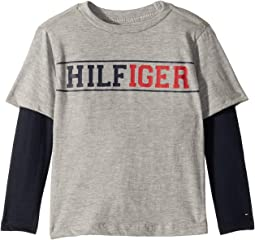 Long Sleeve Crew Neck Shirt (Toddler/Little Kids)