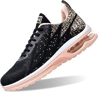 أحذية GOOBON Air نسائية رياضية للتمرين الرياضي لممارسة الرياضة والجري الرياضية (مقاس 5. 5-10)