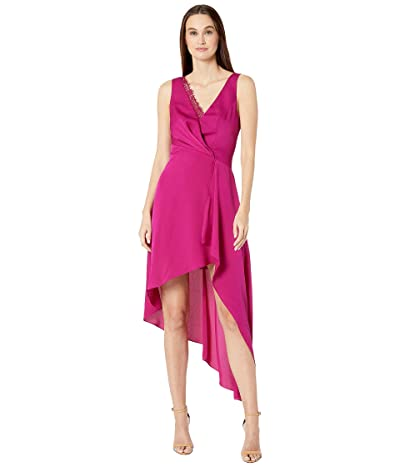 BCBGMAXAZRIA Eve Long Dress (Vivid Fuchsia) Women