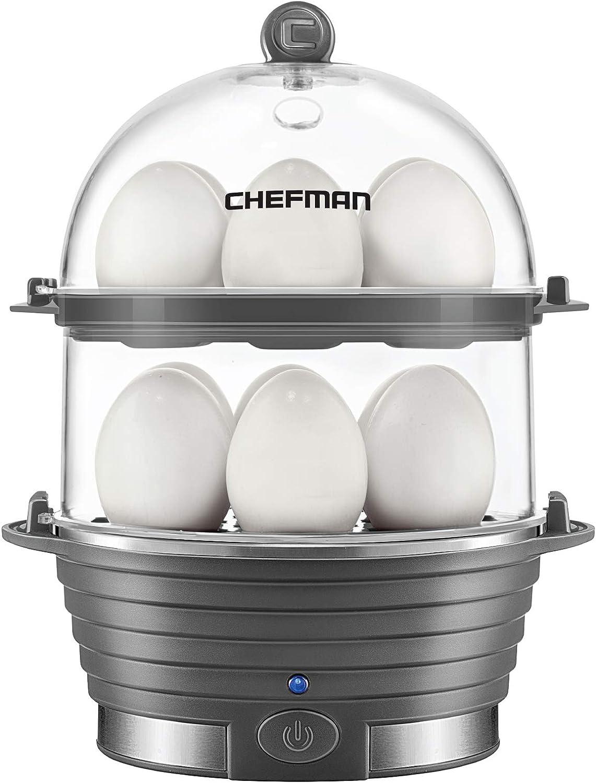 Chefman Electric Egg Max 54% OFF Cooker Boiler Rapid F Poacher Seattle Mall Egg-Maker
