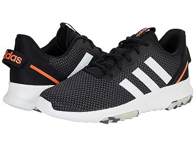 adidas Kids Racer TR 2.0 (Little Kid/Big Kid) (Black/White/Grey) Kid