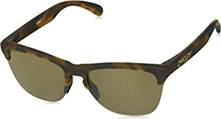 d7e7a0547f6a9 Óculos de Sol Oakley Frogskins Lite Prizm Tungst Cor Marrom Tamanho  Único