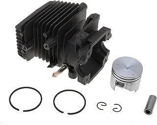 Jardiaffaires Zylinder Kolben 37/mm Anpassbar f/ür Kettens/äge Stihl MS192T