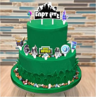 Pleasing Amazon Com Video Games Cake Cupcake Toppers Party Supplies Funny Birthday Cards Online Drosicarndamsfinfo