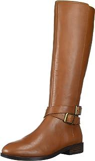 Aerosoles Women's Julia Equestrian Boot, Cognac Leather, 6.5 M US