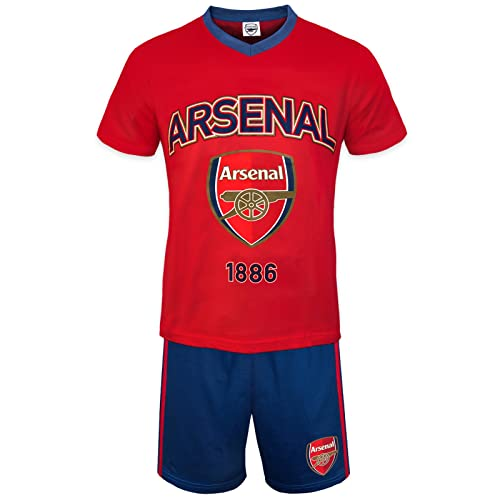 c96cb9650 Arsenal FC Official Football Gift Boys Kids Kit Pyjamas