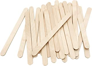 200 Pcs Craft Sticks Ice Cream Sticks Natural Wood...