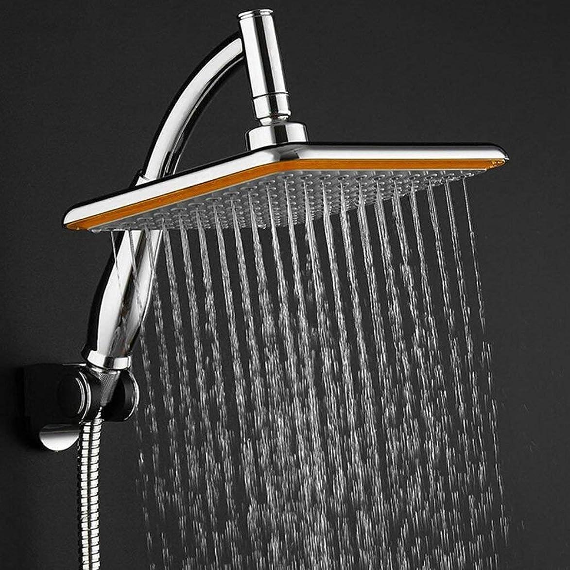 ダイヤルラフレシアアルノルディ精巧なHDZWW 固定シャワー?ヘッド、究極のシャワーの経験のためのシリコーンのジェット機が付いている8インチの正方形の雨固定シャワー?ヘッド304のステンレス鋼の高圧降雨量のシャワー?ヘッド