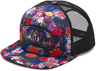 Vans Off The Wall Womens Beach Girl Novelty Trucker Snapback Hat Cap - Galaxy Floral