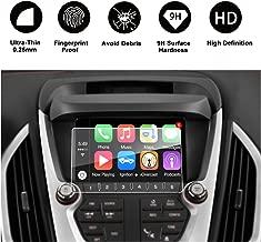 2014-2017 GMC Terrain 7-Inch INTELLILINK Car Navigation,GMC Infotaintment System RUIYA HD Clear TEMPERED GLASS Screen Protective Film