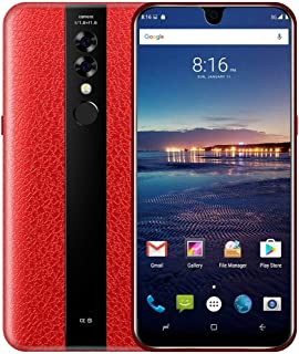 NDGDA 5.5 Ultrathin Android6.0 Octa-Core 512MB+4GB GSM Red 3G WiFi Dual SIM Dual Camera Smart Cellphone Unlocked Phones Hot Sale