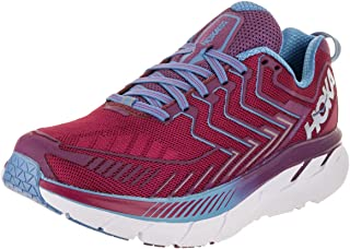 Hoka One 1016724-CJPP : One Women's Clifton 4 Running Shoe Cherries/Jubilee (6 B(M) US)