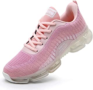 Women Air Running Tennis Shoes Lightweight Breathable Mesh Outdoor Indoor Sports Gym Jogging Athletic Casual Fashion Walking Sneakers US5.5-10
