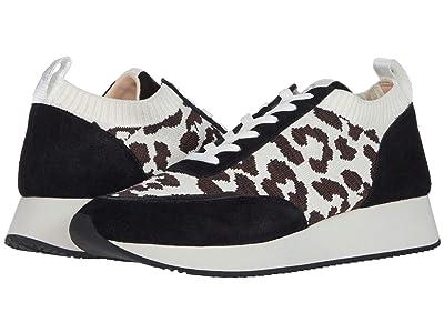 Loeffler Randall Remi Lace-Up Sneaker (Leopard/Black) Women