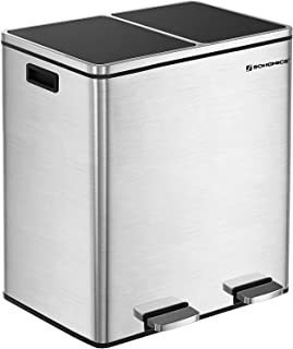 Best 50 gallon trash can with wheels Reviews