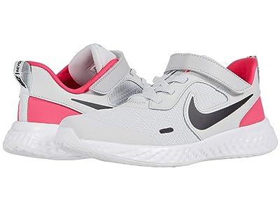 Nike Kids Revolution 5 (Little Kid) (Photon Dust/Black/Hyper Pink/White) Boys Shoes