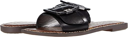 Black Smooth Nappa Leather